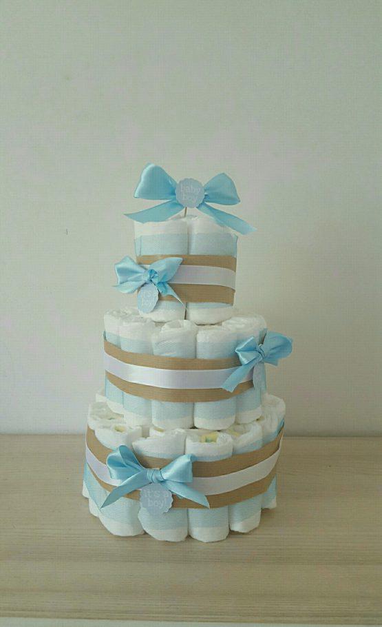 Gâteau de Couche pour garçon «Petit chou»