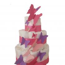 Gâteau de Couche Thème «Papillons»