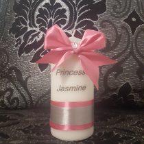 bougies personnalisée pour fille