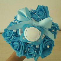 bouquet de naissance «Blue Roses»