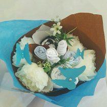 Bouquet naissance pour garcon à offrir