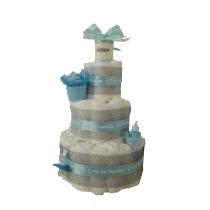 Gâteau de Couche pour garçon » Douceur de bébé 2″
