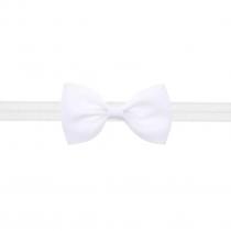 bandeau blanc avec petit nœud