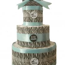Gâteau de Couche Thème «Zèbre»