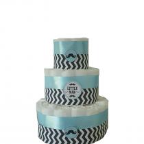 Gâteau de Couche Thème «chevrons»