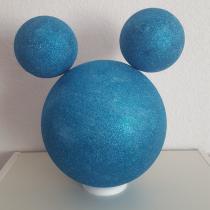 Décoration «Minnie et mickey» bleu