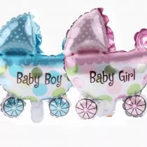 Ballon » poussette baby-boy»