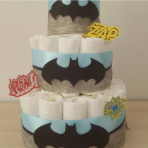 Gâteau de Couche Thème «Heroes boy»