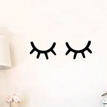 Stickers «Cils noir»