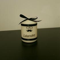 Bougies personnalisées  «moustache»